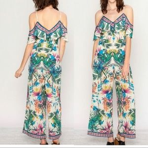 NWOT Tropical Jumpsuit
